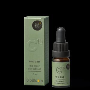 Biobloom CBD Olaj 10% 10ml - Biobloom NaturalTEN - Kendertér