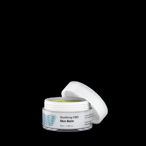 NYUGTATÓ CBD BŐRBALZSAM / Soothing CBD skin balm (50 ml)