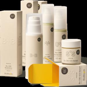 Biobloom Organikus Kozmetikumszett - Kendertér