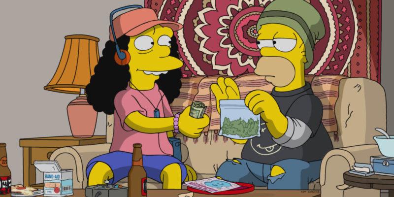 Kendertér - A kannabisszal nyerhetjük meg a szuperbaktériumok elleni harcot - Simpsons Sell Cannabis 1024x576 800x400