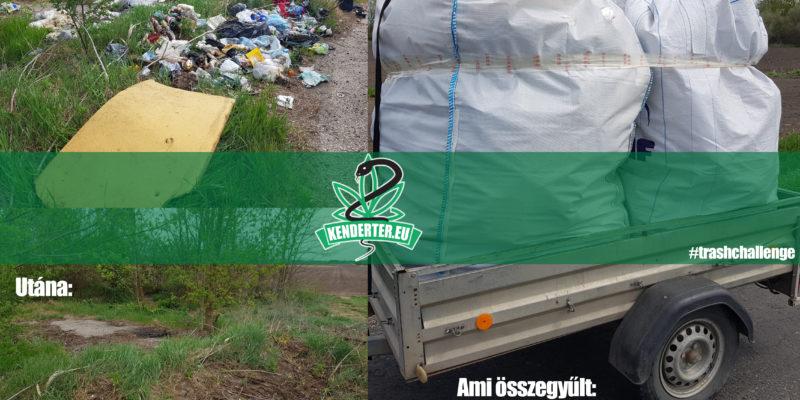 Kendertér - Közhasznúkihívás teljesítése a kannabisszal a tisztább környezetért keretein belül - trashchallenge 800x400