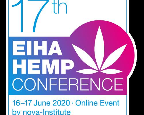 Kendertér - Az Európai Ipari Kender Szövetség idei 17. konferenciája kizárólag online lesz megtartva - 2020 EIHA Conference Logo quadrat RGB web 501x437 501x400