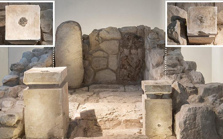 Két oltár az izraeli templombanFotó: Israel Museum/Laura Lachman