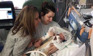 Egy újszülött a világ első olyan babája aki részt vesz kannabiszterápiás vizsgálaton