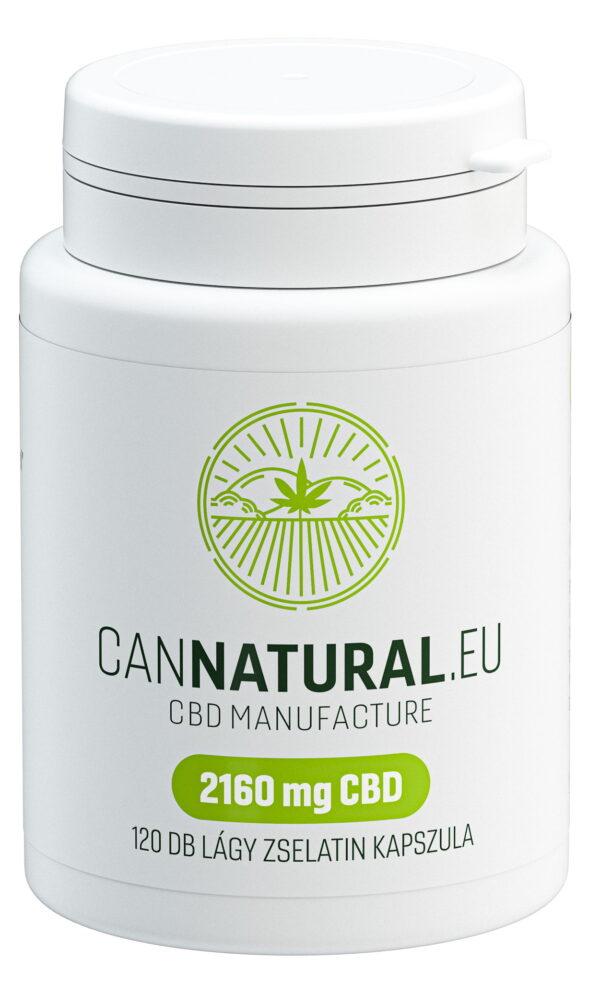 Cannatural CBD kapszula 120db - Kendertér