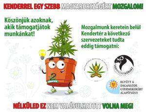 Kenderrel egy szebb Magyarországért mozgalom