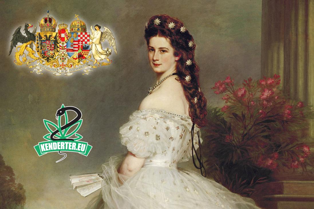 Erzsébet Magyarország királynéja kannabisszal gyógyította köhögését