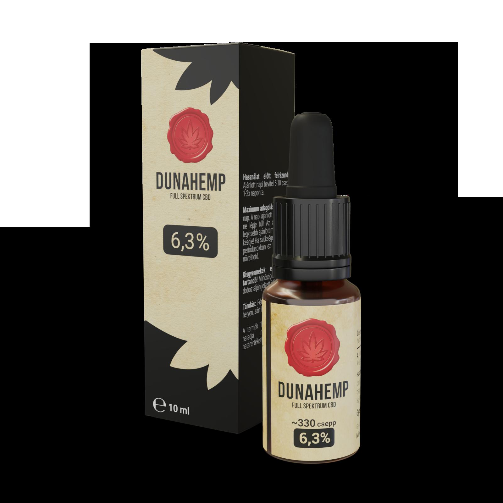 DUNAHEMP Full Spektrum CBD 6,3% - Kendertér