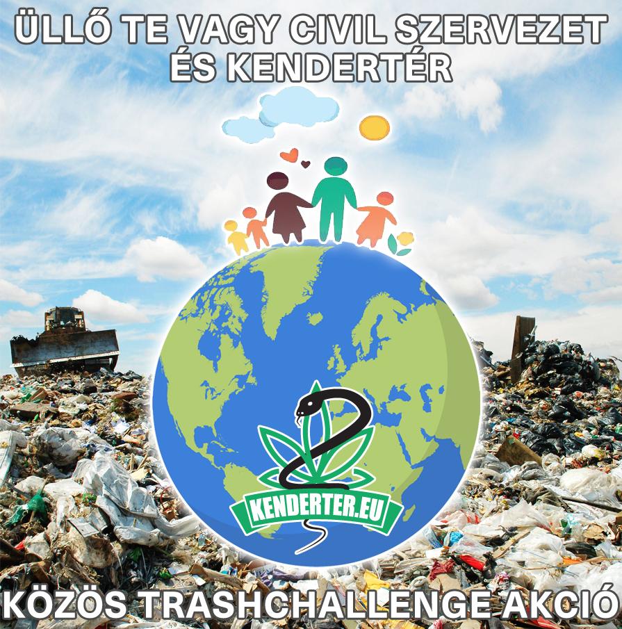 Üllő Te Vagy civil szervezet és Kendertér Trashchallenge
