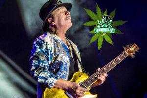 Carlos Santana saját kannabisz vállalkozásba kezd