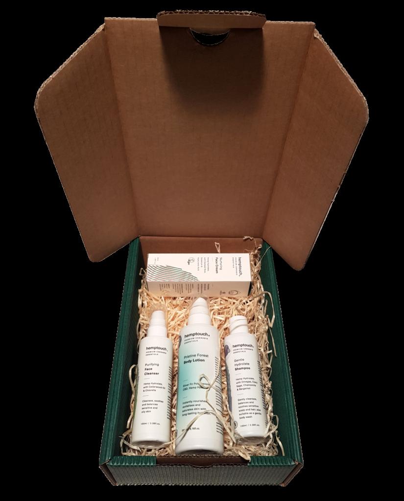 Unisex Kender Kozmetikai Ajándékcsomag