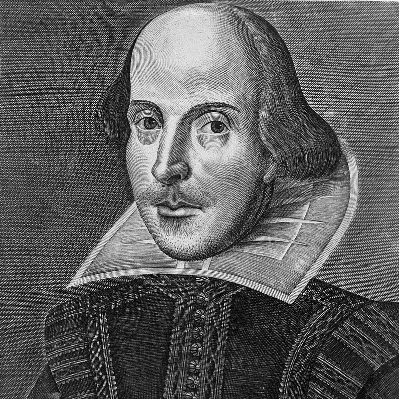 A Droeshout portré vagy Droeshout rézkarc William Shakespeare portréja - Kendertér