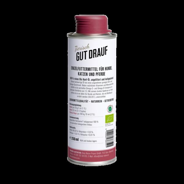 Medihemp - Bio CBD kenderolaj háziállatoknak 250 ml