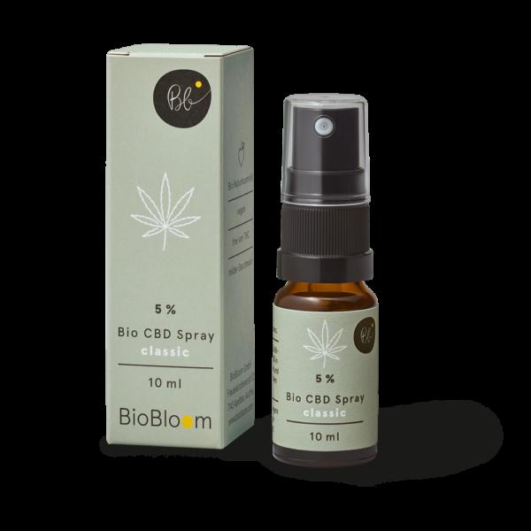 5% Bio CBD Spré – natúr 10ml