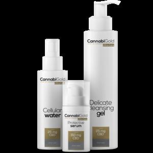 CannabiGold - Arcápoló Kozmetikai Csomag - Minden Bőrtípusra