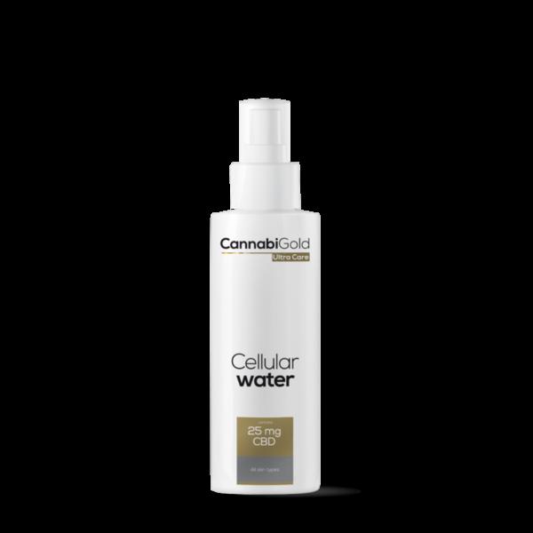 CannabiGold – Celluláris víz – minden bőrtípusra (125 ml // 25 mg CBD)