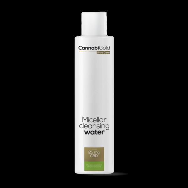 CannabiGold – Micellás arclemosó – zsíros, vegyes, aknéra hajlamos bőrre (200 ml // 25 mg CBD)