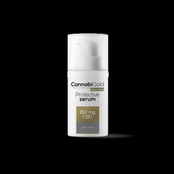 CannabiGold – Protective szérum – minden bőrtípusra (30 ml // 150 mg CBD)