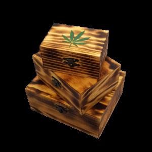 Lussy Kannabiszos Díszdoboz Égetett