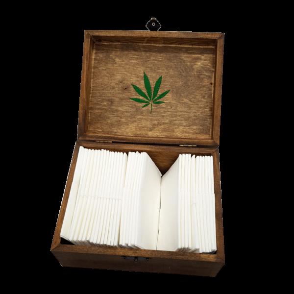 Lussy Kannabiszos Díszdoboz Barna