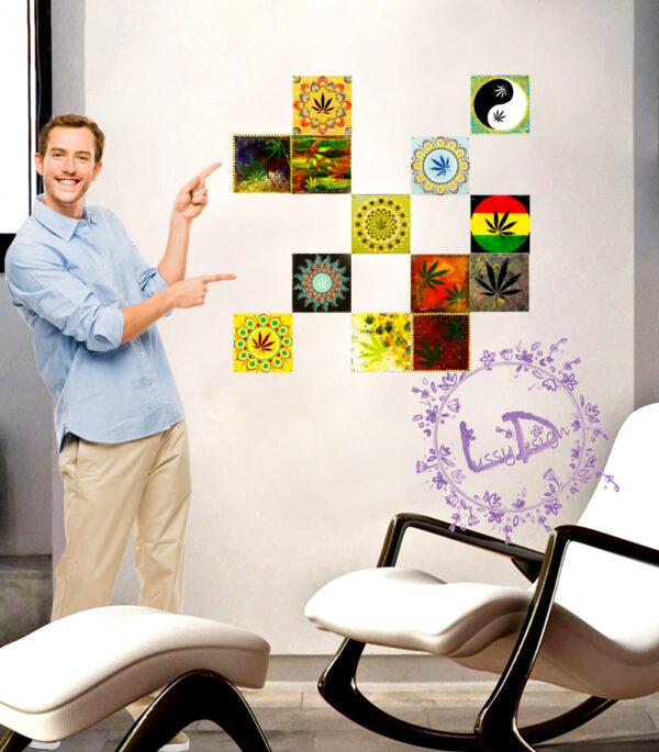 Lussy Kannabiszos Csempe 2021-0004