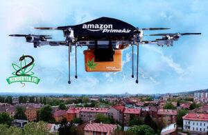 Amazon kannabisz árusításba kezd, drónok szállítják majd házhoz a csomagokat – láss előre