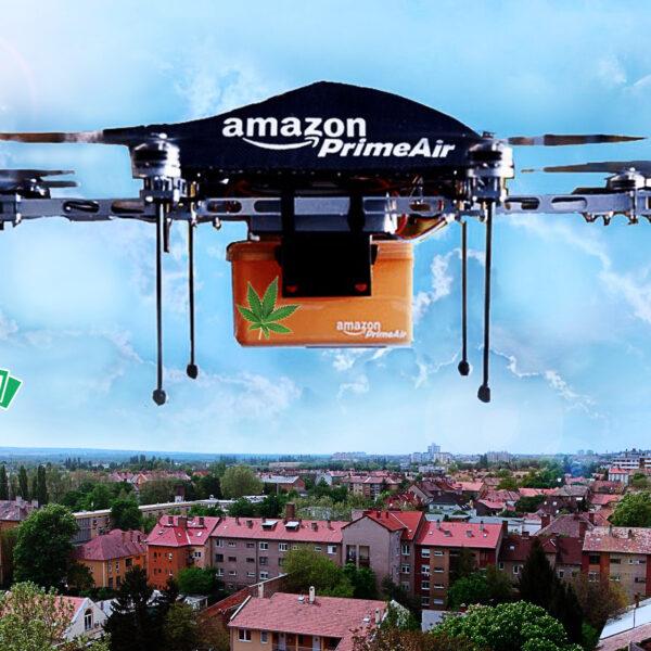 Amazon kannabisz árusításba kezd, drónok szállítják majd házhoz a csomagokat - láss előre