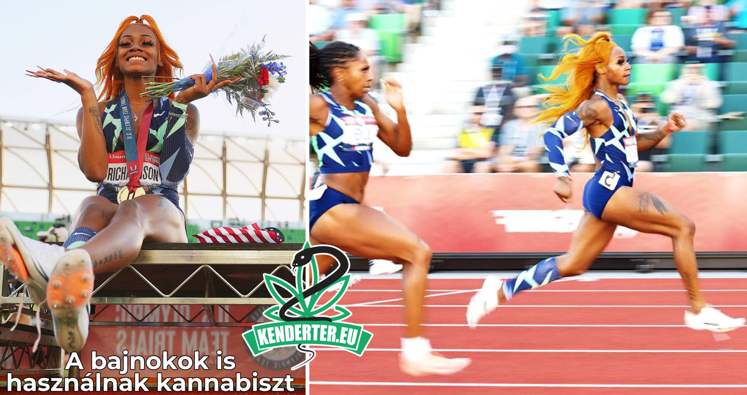 Pozitív lett Sha'Carri Richardson, az amerikai bajnok sprinter kannabisz tesztje.