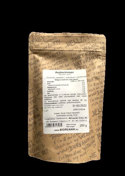 Aszkorbinsav - C-vitamin - Kendertér