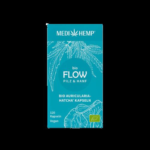 Medihemp Bio FLOW Auricularia & Kender kapszula