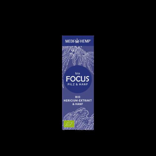 Medihemp Bio FOCUS Hericium & Kender kivonat