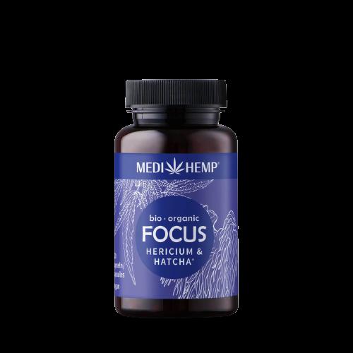 Medihemp Bio FOCUS Hericium & Kender kapszula