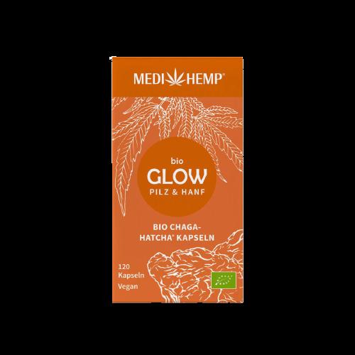 Medihemp Bio GLOW Chaga & Kender kapszula