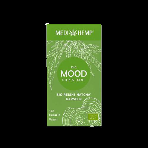 Medihemp Bio MOOD Reishi & Kender kapszula