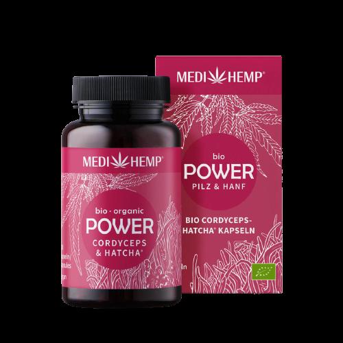 Medihemp Bio POWER Cordyceps & Kender kapszula